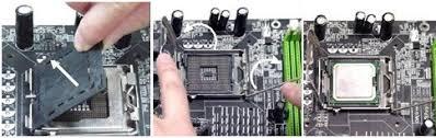 Сборка компьютера Отчет Индивидуальное задание Сайт по  Для того чтобы установить процессор выполнил следующие действия • отвел