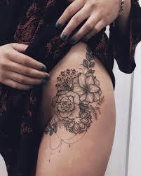 14 головокружительных татуировок на бедре которые не останутся без