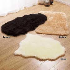faux fur rug ikea