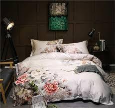 details about long staple pure cotton bedding set 4pcs 100 cotton duvet cover flat sheet king