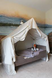 Build an indoor camping tent bed canopy for kids | The Ragged Wren ...