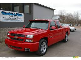 All Chevy chevy 1500 ss : 2003 Victory Red Chevrolet Silverado 1500 SS Extended Cab AWD ...