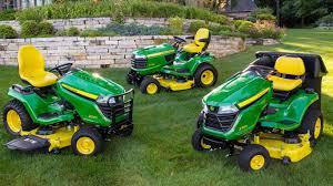 John Deere Lawn Tractor Comparison Chart Lawn Mowers John Deere Us