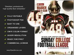 football flyer templates american football flyer template 3 flyerheroes