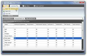 Viewing Xml File View Analyze And Filter Csv Tsv Xml Data Files With