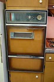 retro wall oven vintage caloric oven with atomic handles vintage tappan wall oven parts