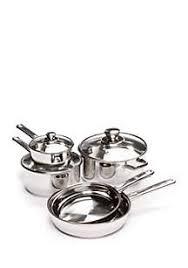 Cooks Tools™ <b>8</b>-<b>Piece Stainless Steel</b> Cookware Set   belk