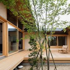 architecture houses interior. Hiiragi\u0027s House Is A Japanese Home Arranged Around Courtyard And Old Tree Architecture Houses Interior