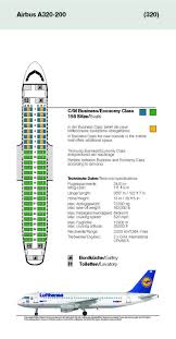 lufthansa airlines airbus a320 200 aircraft seating chart