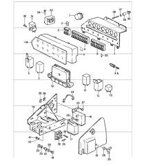 buy porsche 911 912 1965 1989 relays fuses design 911 control units relay fuse box 911 1987 89