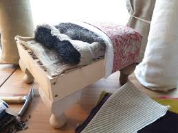 How To Make A Footstool make a foot stool ideas Central London