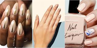 Subtle Ways to Upgrade Your Nude Manicure - Easy Nail Art Ideas ...