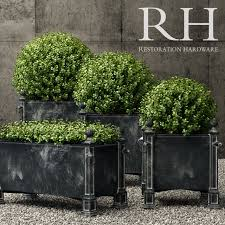 restoration hardware versailles weathered zinc planters 3d model in small plants 3dexport