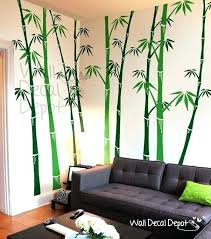 bamboo wall decor decor wall art bamboo wall decals tree wall decal wall sticker vinyl art