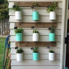 Vertical Herb Garden In Your Kitchen Formula Tins Reused For Our Herb Vertical Garden Supplies All