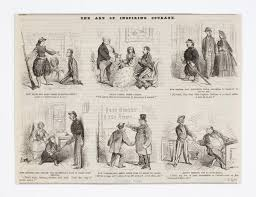 the civil war and the southern belle the new york times newspapers printed gender bending cartoons