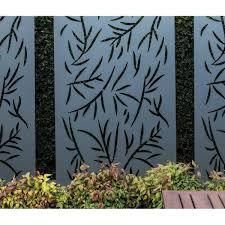 stratco privacy screen wall art panel 4