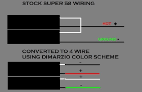 dimarzio single coil pickup wiring color code solidfonts this pickup wiring has me completely stumped gearz pro audio