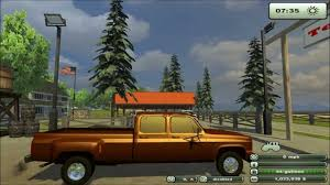 Farming Simulator 2013 - Mod Chevy 3500 Pick-up Truck