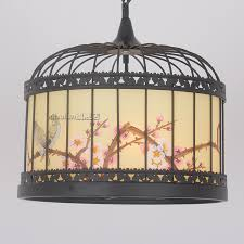 get ations new chinese antique chandelier wrought iron birdcage birdcage birdcage lamp chandelier restaurant tea room painted birdcage
