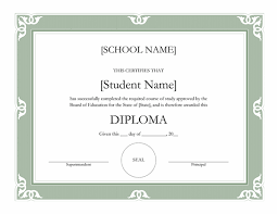 High School Diploma Certificate Fancy Design Templates High School Diploma Certificate Fancy Design