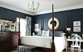 Navy Blue Bedroom Decorating Ideas Navy Blue Bedroom - Dark blue bedroom
