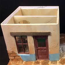 Illustration Board House Design Modeling Adobe Walls With Illustration Board Model