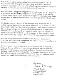 Letter Of Recommendation For Elementary Students Serpto