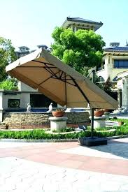 heavy duty patio umbrella outdoor cantilever stand photo concept