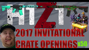 h1z1 2017 invitational crates x50 crazy luck