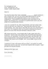 Raise Request Letter Template Salary Increase Memo Best Salary Increase Letters How To Ask