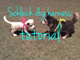 Dog Harness Pattern Inspiration Schleich Dog Harness Tutorial VERY EASY YouTube