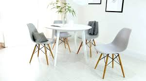 gray and white dining room gray round dining table set white round dining table set brilliant