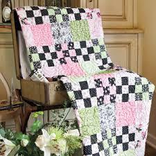 Nine-Patch Parfait: FREE Queen Size Floral Bed Quilt Pattern ... & Nine-Patch Parfait: FREE Queen Size Floral Bed Quilt Pattern Adamdwight.com
