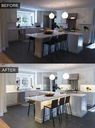 under cabinet lighting kitchen. Before + After Under Cabinet Lighting In A Recently Remodeled Kitchen S