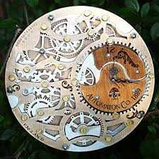 automaton silverberry wooden steampunk
