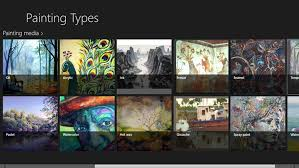 painting types windows 8 apps on brothersoft types of paintings