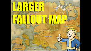 fallout map the size of elder scrolls online? youtube Eso Map fallout map the size of elder scrolls online? eso map guide