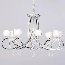 pretty femine pendant light tulip shape design inspired