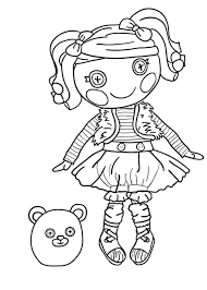 Small Picture Lalaloopsy coloring pages for girls to print for free