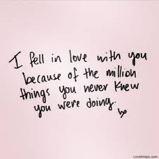I Fell In Love With You Quotes Pinterest Love Quotes Love And Extraordinary Instagram Quotes Love