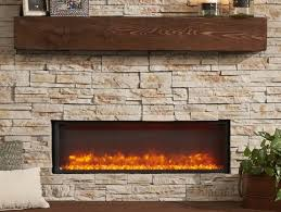 the napoleon cinema log 27 built in electric fireplace creates an inviting space with 5 000 btu s of warmth and no need for venting plug in and enjoy