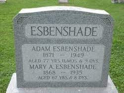 Adam Esbenshade (1871 - 1949) - Genealogy