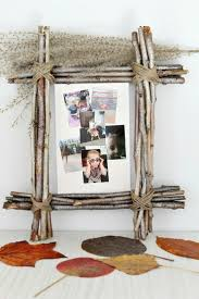 Homemade Rustic Picture Frames Diy Rustic Photo Frame Favecraftscom