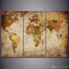 hd printed vintage world map painting canvas print room decor print poster picture canvas print framed print framed beautiful oil painting artwork oil