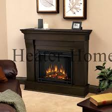 5910e real flame cau electric fireplace dark walnut lifestyle tilted left