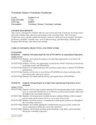 Sample Veterinary Technician Resume – Resume Tutorial