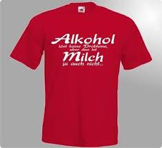 Fun T Shirt Alkohol Löst Keine Probleme Witzig Spaß Geschenk