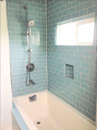 blue tiles bathroom. Bathroom:Good Subway Tile Bathroom Shower With Glass Blue In Bathtub And Mini Slide Tiles