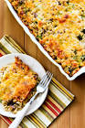 brown rice and cheese casserole